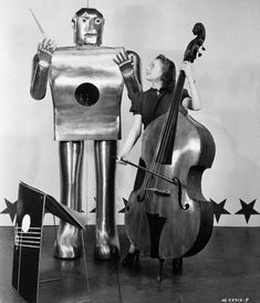 Maestro Electro- This robot is seven feet tall and can perform 36 tricks.