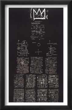 Basquiat- Tuxedo, 1982-83 - the life written down and the power of words.