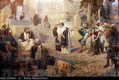 vasily polenov christ and the adulteress - Google Search