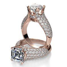 Amiable Diamond Bridal Set 2.32 Ct Princess Diamond Black Sterling Silver Ring Ring !! Jewelry & Watches