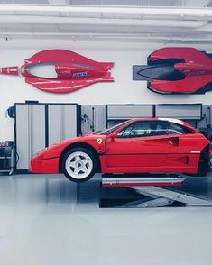 The garage of dreams Ferrari F40 revision  Look the video  by @mrjeremyclarkson http://youtu.be/R3lgehIWXC8  by @blackbirdautomotive #f40 #garage #italy #art #ferrari #mercedesbenz #lamborghini #bugatti #porsche #carporn #vintage #firstpost #first #elegance #lux #luxury #luxurycar #luxurylife #f4f #fashion #cars #londoncars #blacklist #newyork #autoporn #automotive #instacar #follow #carvintage by car_vintage