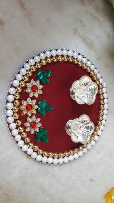 Handmade Tray Decoration Interesting Pooja Thali Decoration  Aarti Thali  Pinterest  Decoration Inspiration Design
