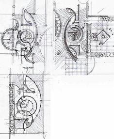 Landscape Architecture Drawing, Architecture Concept Drawings, Landscape Design Plans, Architecture Plan, Urban Landscape, Plaza Design, Interior Design Sketches, Parking Design, Planer