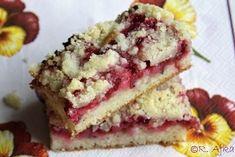Poľné kvety: Ovocný koláč z posýpky