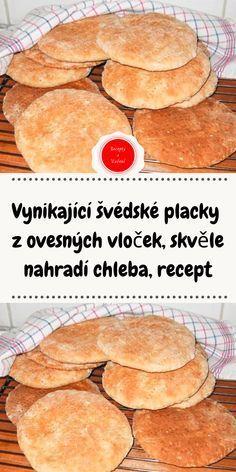 Healthy Bread Recipes, Cooking Recipes, Slovak Recipes, Simply Recipes, Food Art, Ham, Food And Drink, Low Carb, Vegetarian