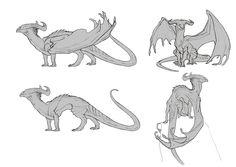 ArtStation - Cavern Dragon, Javier Franco Santacreu
