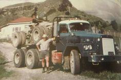 Heavy Duty Trucks, Big Rig Trucks, Old Trucks, International Harvester Truck, Road Train, Rigs, West Coast, Vintage Cars, New Zealand
