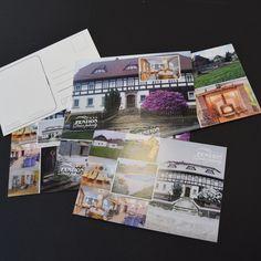 Pohledy na přání. Grafické zpracování a tisk. Polaroid Film