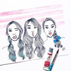 Parte do nosso time #DepoisDosQuinze num desenho lindo que a @anaillustra fez.  by depoisdosquinze