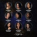 Haiti in the top 9 Miss Universe