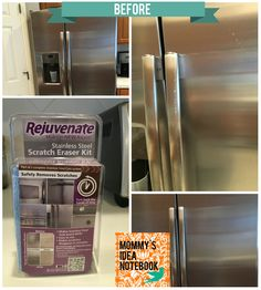 Mommyu0027s Idea Notebook: How To Remove Scratches On Stainless Steel. Cleaning  ...