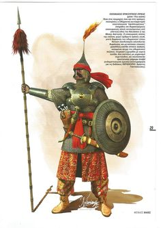 Ottoman cavalry soldier (Siege of Handaka-Crete) desenho Turkish Soldiers, Turkish Army, Army History, Ancient History, Character Art, Character Design, Armadura Medieval, Arm Armor, Knights Templar