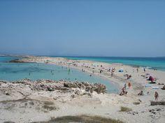 Praia de S'Alga - ilha de Espalmador