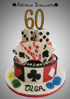 Torta Casino - Poker Cake