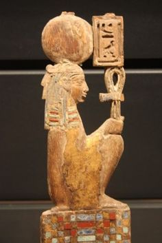 Maât - IV S B.C. - coll. Le Louvre - Paris ~also spelled māt or mayet, was the ancient Egyptian concept of truth, balance, order, law, morality, and justice. Maat was also personified as a goddess regulating the stars, seasons, and the actions of both mortals and the deities, who set the order of the universe from chaos at the moment of creation. (Text from wikipedia)