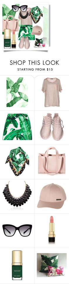 """""""Dolce Green."""" by babett-beattie ❤ liked on Polyvore featuring Dolce&Gabbana, Corto Moltedo and Billabong"""