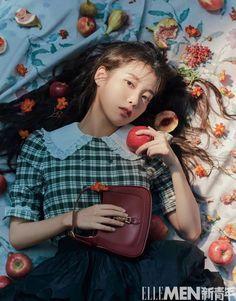 Korean Girl, Asian Girl, Iu Twitter, Pose Reference Photo, Idole, Iu Fashion, Korean Actresses, Ulzzang Girl, Marie Claire