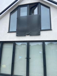We can create Juliette balconies in virtually any colour. This was done in a smoked glass to suit the modern exterior. Juliette Balcony, Glass Balcony, Glass Suppliers, Laminated Glass, Glass Balustrade, Custom Mirrors, Glass Shower Doors, Custom Glass, Architectural Features