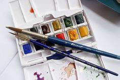 Winsor & Newton Cotman Watercolor Pocket Set • Art Supply Guide