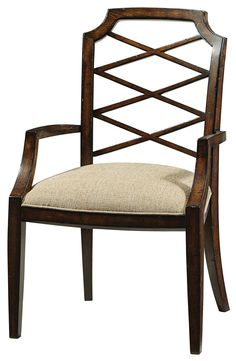 Humphrey Bogart Iconic Dining Arm Chair in Legend | Fine Furniture Design | Home Gallery Stores