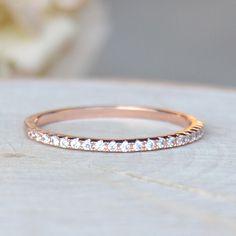 Eternity Ring - Rose Gold