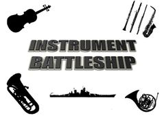 At the end of our instruments unit, 4th graders will be playing review games! I created an instrument version of Battleship that is played t...
