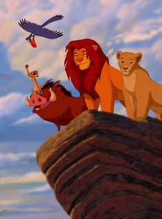 You know you follow too many fandom boards, when you see this picture of the Lion King and expect someone to photo-bomb it.