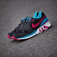 NIKE AIR STAB BLACK/PINK-BLUE  http://wp.me/p59jfm-7g  #SneakerGazer