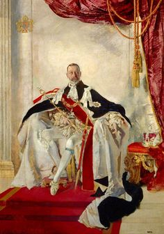 George V by Charles Sims on www.edur.it