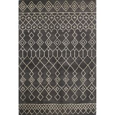 Laflin Charcoal Rug