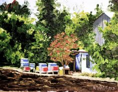 vivo en el campo...... casa de mi vecino. un lugar llamado Liray-Colina, cerca de ciudad De Los Andes