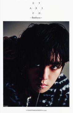 [SCAN] 몬스터 4x6 SD 사진 스캔 # 백현  # Baekhyun
