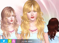 Emma's Simposium: Free Hair Pack #19 By Newsea - Donated!!!