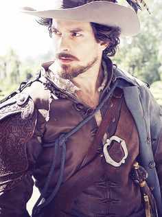 "Aramis - everything about him, really   Aramis: ""I don't like this, I've never been unpopular before."" Porthos: ""Try trading places with me."" Aramis: ""Well, you're used to it, I'm more the romantic hero type."""