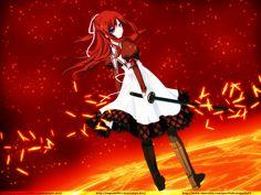 Anime 11 Eyes  Yuka Minase Misuzu Kusakabe Wallpaper
