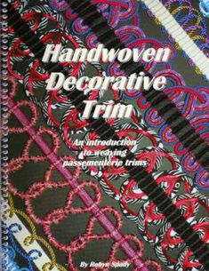 Weaving Textiles, Weaving Patterns, Inkle Weaving, Hand Weaving, Check Mail, Sewing Trim, Passementerie, Skills To Learn, Decorative Trim