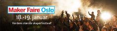 Maker Faire, verdens største skaperfestival kommer til Teknisk museum!