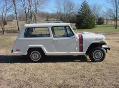 AutoTrader Classics - 1970 Jeep Jeepster Wagon White 6 Cylinder Automatic 4 wheel drive | Classic Trucks | Bartlesville, OK