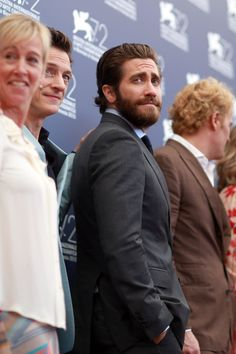 Pin for Later: Jake Gyllenhaal and Josh Brolin Have Their Own Photoshoot at the Venice Film Festival, and It's Hilarious