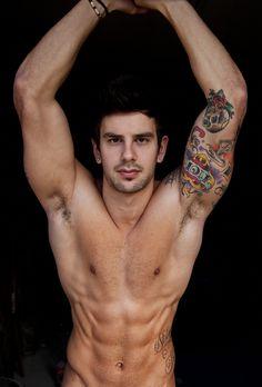 #men #tattoos #nude