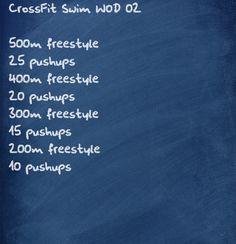 CrossFit SWIM WOD
