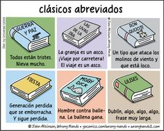 Versiones extremadamente resumidas de libros clásicos para personas perezosas