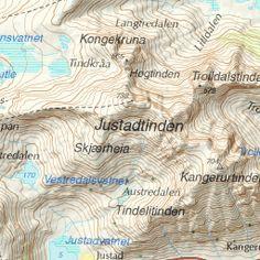 Topptur til Justatind (738 moh)