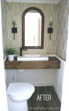 Floating Vanity DIY - modern bathroom decorFloating Vanity DIY - modern bathroom decorHow to make your own floating vanityDo you want to create your own floating DIY vanity? Floating Bathroom Vanities, Add A Bathroom, Diy Bathroom Vanity, Floating Vanity, Diy Vanity, Modern Bathroom, Bathroom Ideas, Ikea Vanity, Very Small Bathroom