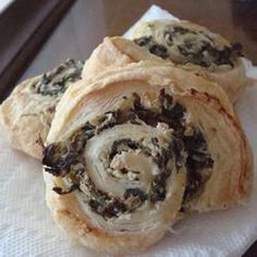 Artichoke and Spinach Swirls Recipe on Yummly. @yummly #recipe