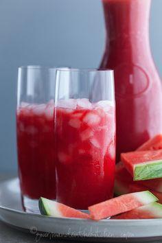 Savor the last few days of summer with a watermelon-lemonade