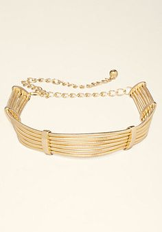 Shop bebe for: Belts - Stacked Snake Chain Belt - Glistening goldtone belt that enhances your figure with a stacked snake chain silhouette. Trendy Accessories, Fashion Accessories, Chain Belts, Bangles, Bracelets, Contemporary Fashion, Belts For Women, Snake, Gold