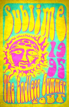 tour poster for Sublime