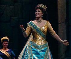 June Anderson as Semiramide. The Metropolitan Opera 1990.