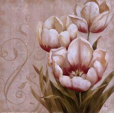 Shop for framed Perfect Blooms II by Nan. Art Floral, Flower Prints, Flower Art, Victorian Art, Decoupage Paper, Vintage Diy, Fabric Painting, Vintage Flowers, Framed Artwork